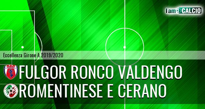 Fulgor Ronco Valdengo - Romentinese e Cerano