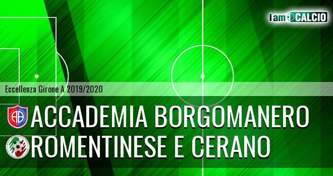 Accademia Borgomanero - Romentinese e Cerano