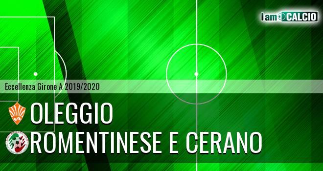 Oleggio - Romentinese e Cerano