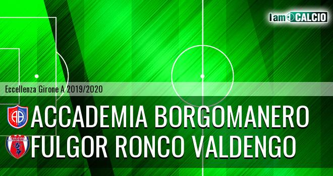 Accademia Borgomanero - Fulgor Ronco Valdengo