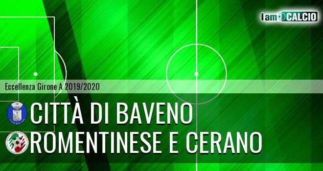 Città di Baveno - Romentinese e Cerano