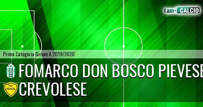 Fomarco Don Bosco Pievese - Crevolese