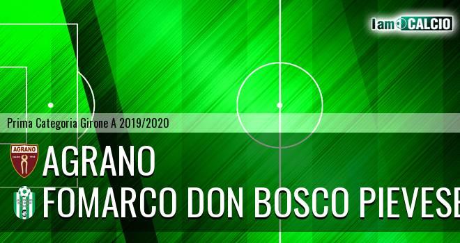 Agrano - Fomarco Don Bosco Pievese