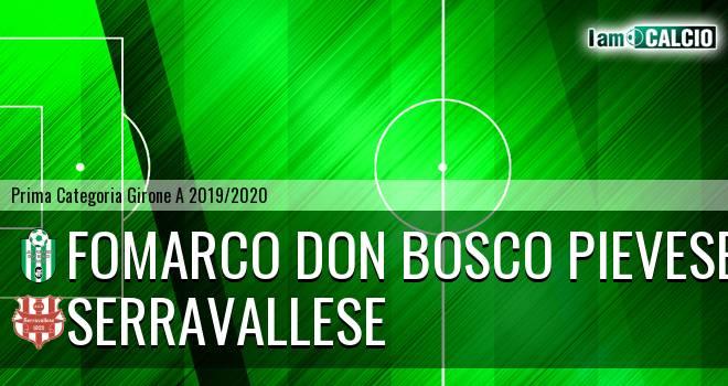 Fomarco Don Bosco Pievese - Serravallese