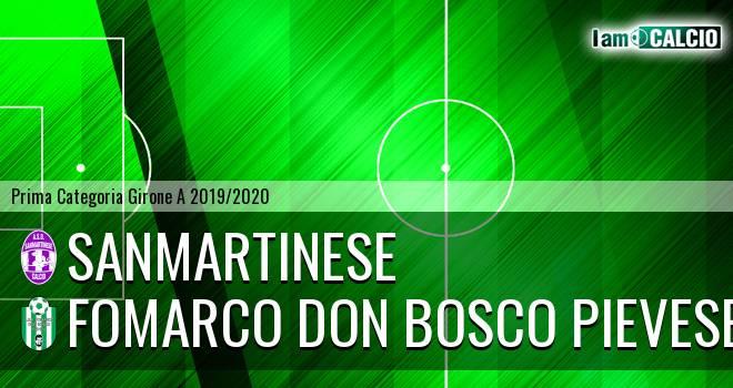 Sanmartinese - Fomarco Don Bosco Pievese
