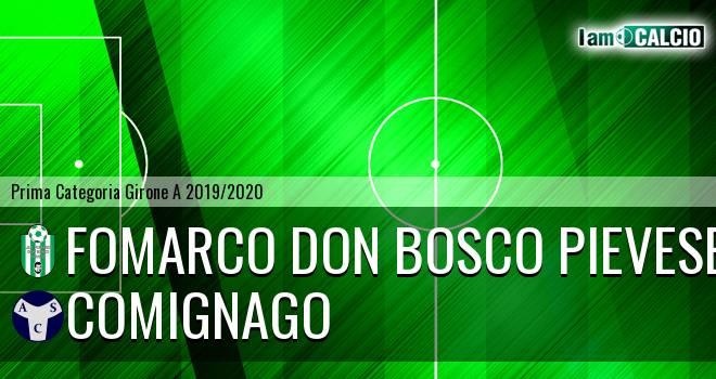 Fomarco Don Bosco Pievese - Comignago