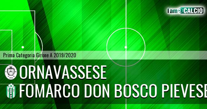 Ornavassese - Fomarco Don Bosco Pievese