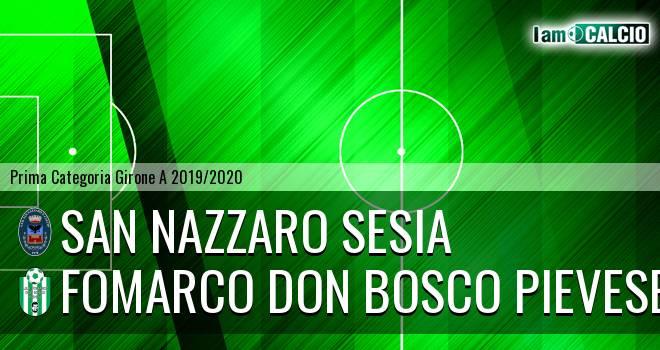 San Nazzaro Sesia - Fomarco Don Bosco Pievese