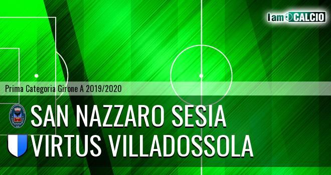 San Nazzaro Sesia - Virtus Villadossola