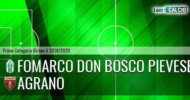 Fomarco Don Bosco Pievese - Agrano
