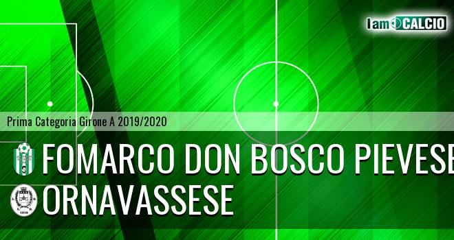 Fomarco Don Bosco Pievese - Ornavassese