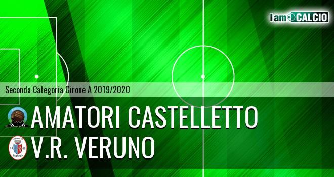Amatori Castelletto - V.R. Veruno