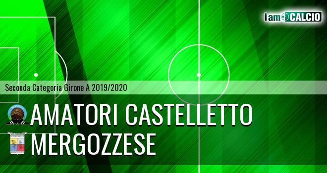 Amatori Castelletto - Mergozzese