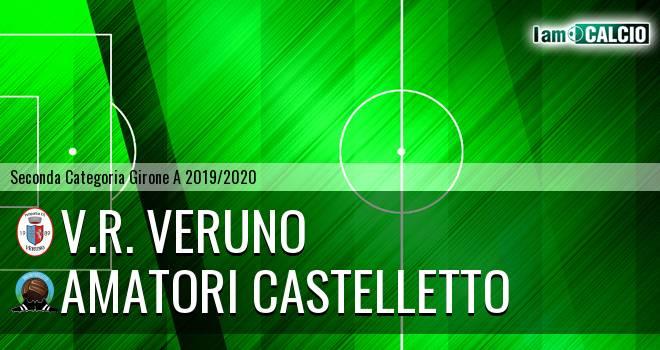 V.R. Veruno - Amatori Castelletto