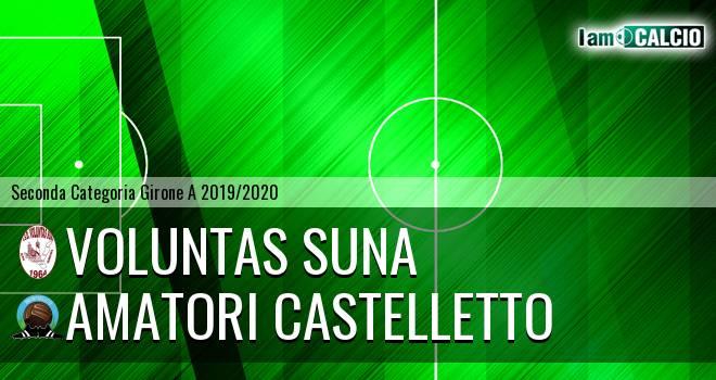 Voluntas Suna - Amatori Castelletto