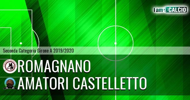 Romagnano - Amatori Castelletto