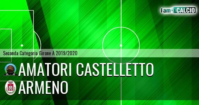 Amatori Castelletto - Armeno