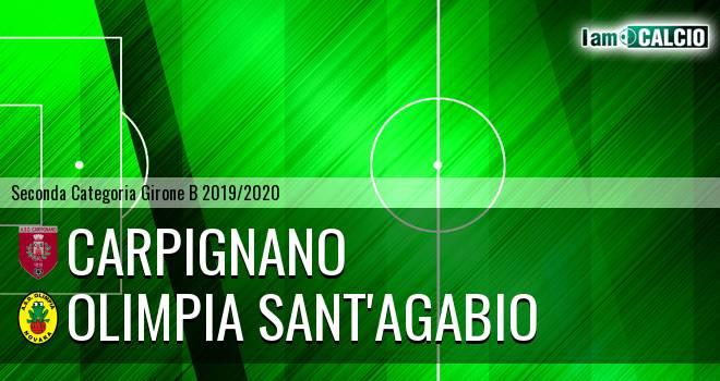 Carpignano - Olimpia Sant'Agabio