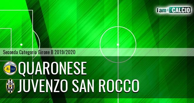 Quaronese - Juvenzo San Rocco