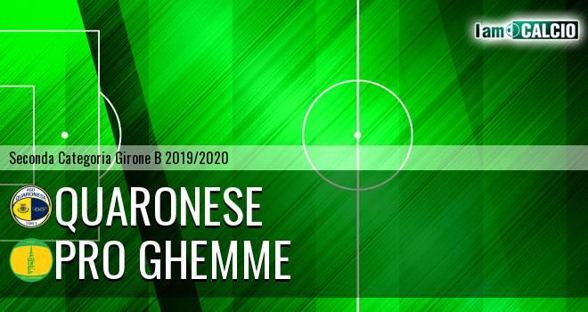 Quaronese - Pro Ghemme