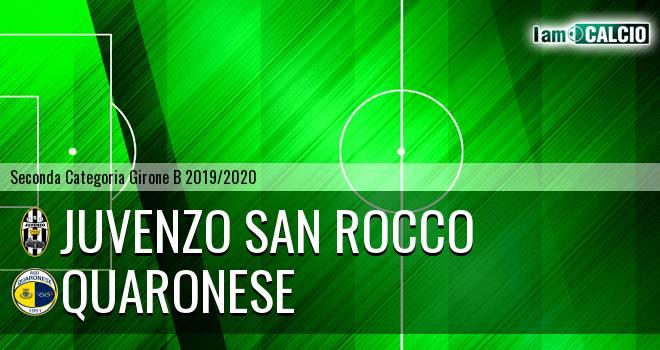 Juvenzo San Rocco - Quaronese