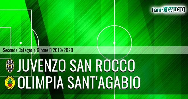 Juvenzo San Rocco - Olimpia Sant'Agabio