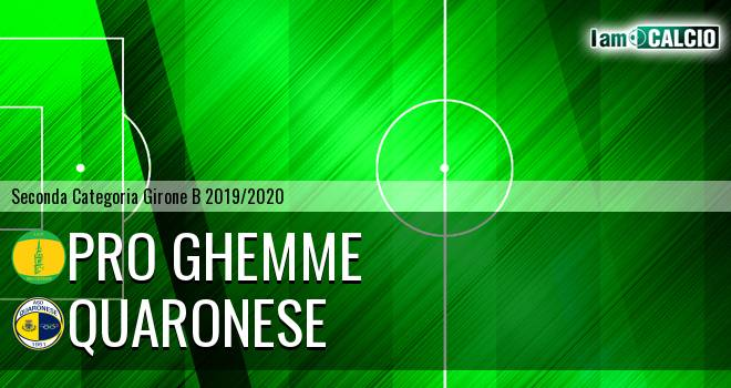 Pro Ghemme - Quaronese