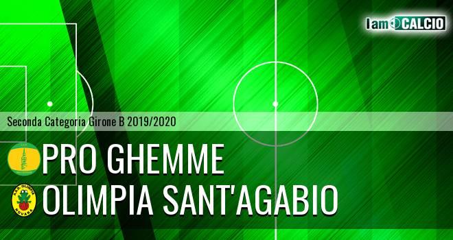 Pro Ghemme - Olimpia Sant'Agabio