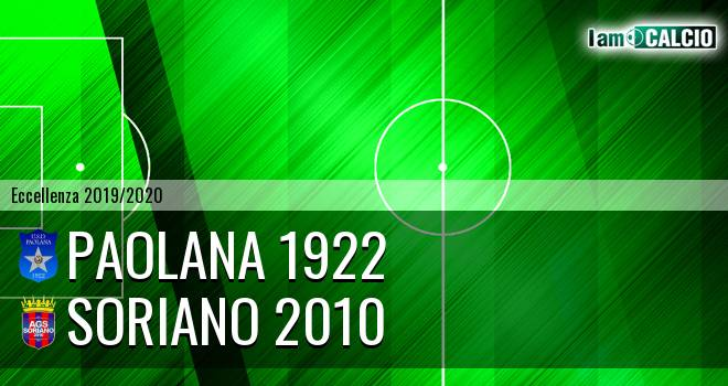 Paolana 1922 - Soriano 2010
