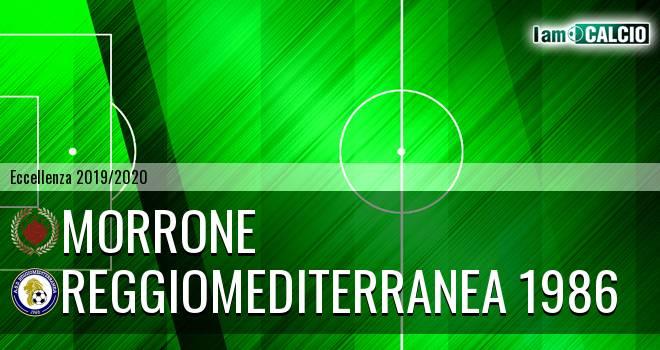 Morrone - Reggiomediterranea 1986