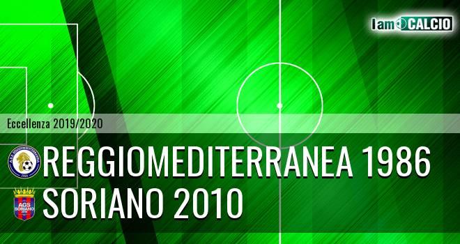 Reggiomediterranea 1986 - Soriano 2010