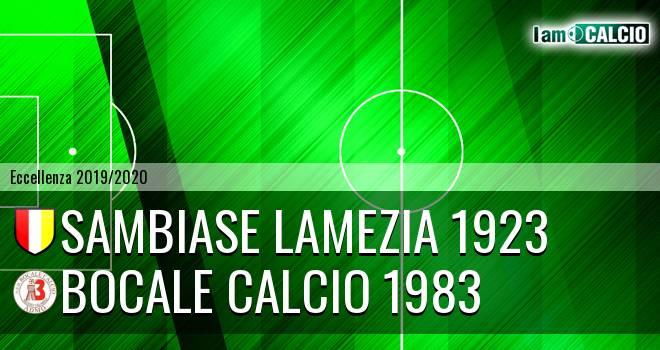 Sambiase Lamezia 1923 - Boca Nuova Melito ADMO