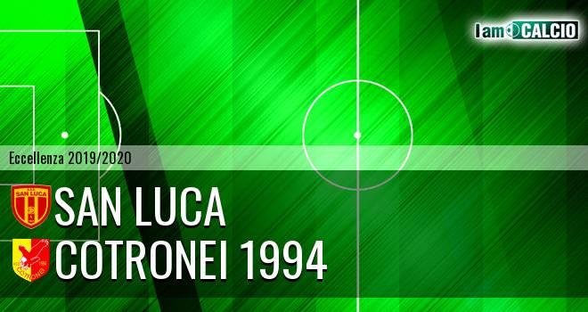 San Luca - Cotronei 1994