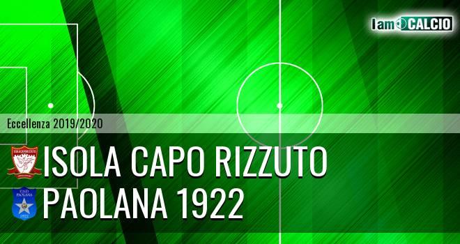 Isola Capo Rizzuto - Paolana 1922