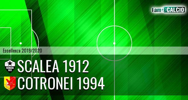 Scalea 1912 - Cotronei 1994