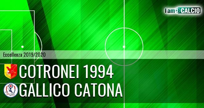 Cotronei 1994 - Gallico Catona
