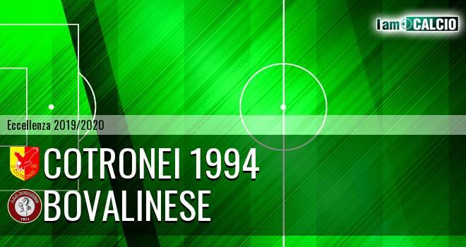 Cotronei 1994 - Bovalinese