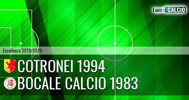 Cotronei 1994 - Boca Nuova Melito ADMO