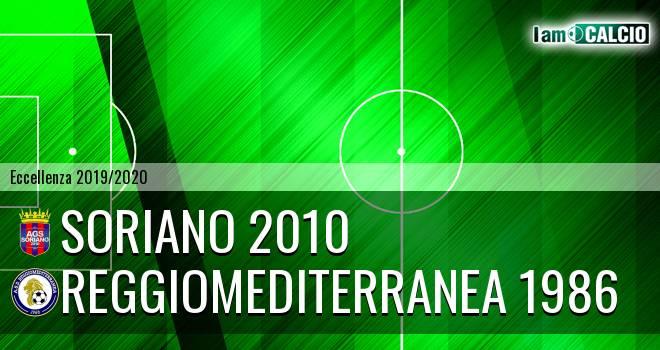 Soriano 2010 - Reggiomediterranea 1986