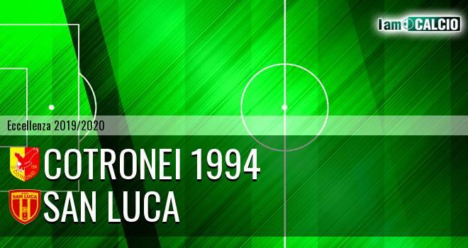 Cotronei 1994 - San Luca