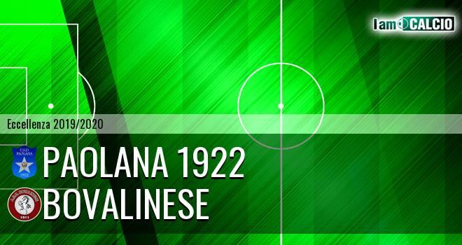 Paolana 1922 - Bovalinese