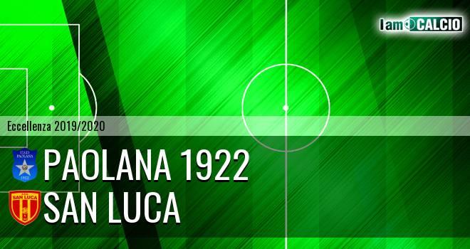 Paolana 1922 - San Luca