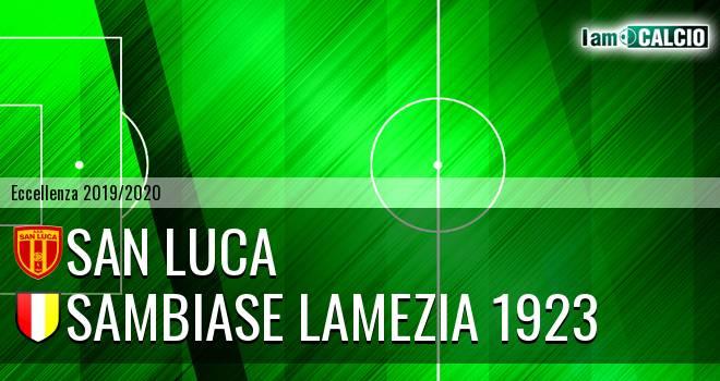 San Luca - Sambiase Lamezia 1923