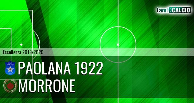 Paolana 1922 - Morrone