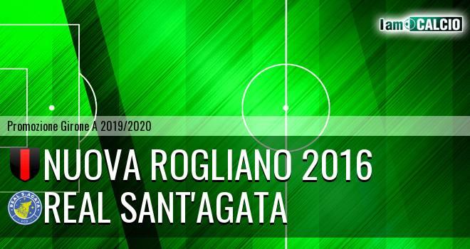 Nuova Rogliano 2016 - Real Sant'Agata