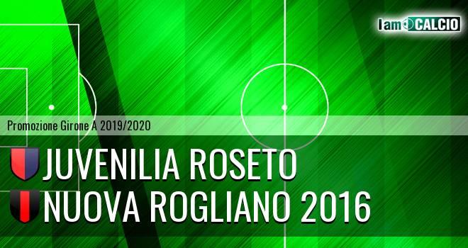 Juvenilia Roseto - Nuova Rogliano 2016