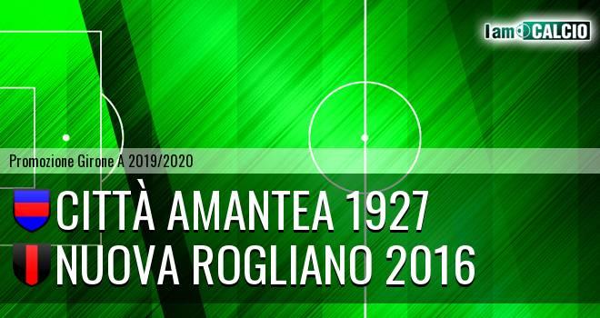 Città Amantea - Nuova Rogliano 2016