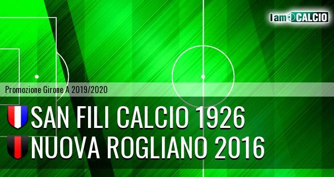 San Fili Calcio 1926 - Nuova Rogliano 2016