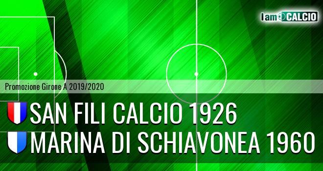 San Fili Calcio 1926 - Marina Di Schiavonea