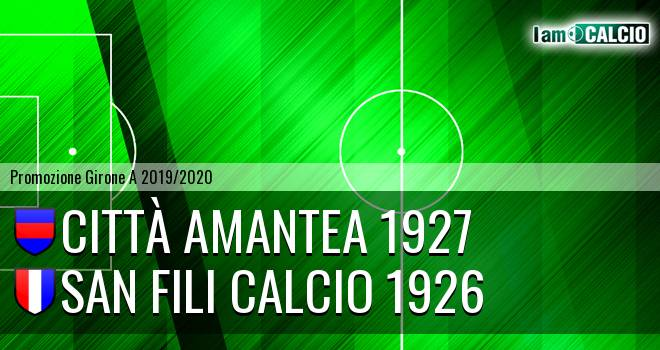 Città Amantea - San Fili Calcio 1926
